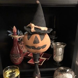 Other - New hand crafted witch pumpkin Halloween Fall